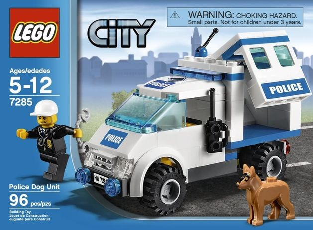 LEGO City 7285 Полицейский наряд и служебная собака (оригинал 100%)