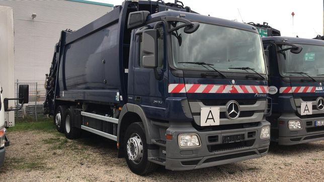 мусоровоз Mercedes Axor