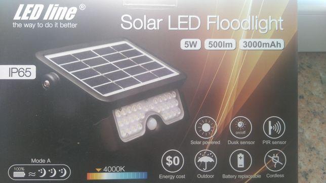 lampa solarna z czujka ruchu