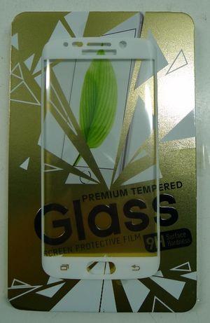Pelicula de vidro temperado para Samsung S6 Edge Branca