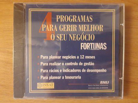 4 Programas para Gerir Melhor o seu Negócio (CD-ROM selado)