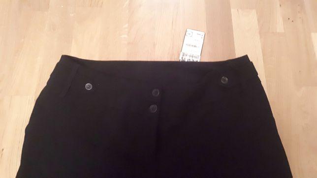 Spodnie damskie - klasyczne z mankietem - C&A Yessica - rozm 46 (nowe)
