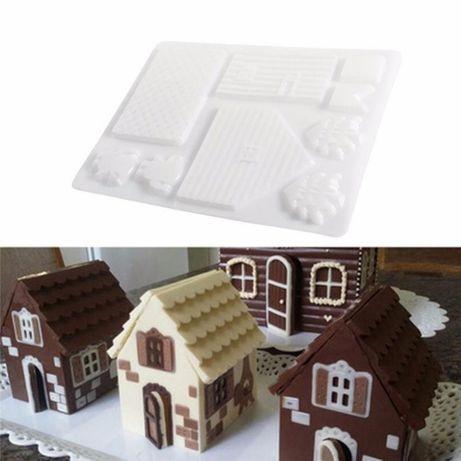 форма для шоколадного домика