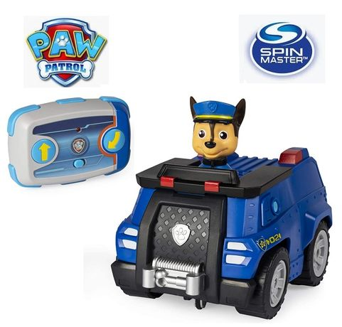 Paw Patrol Chase Remote Control Police Cruiser Щенячий Патруль Гонщик
