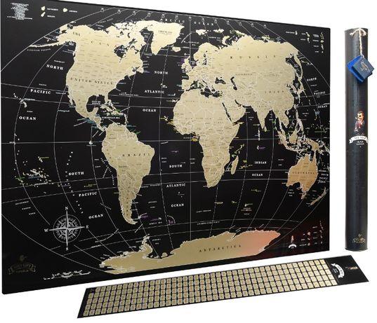 Скретч карта Black Mymap Тревел карта бесплатная доставка Киев