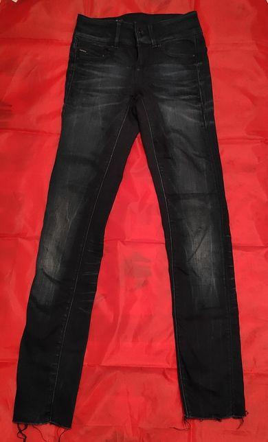 Spodnie jeans dżinsy skinny dziewczęce 11-12 lat rozmiar 152