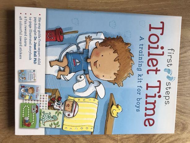 Książka 'Toilet Time' dla chłopców