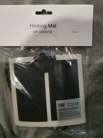 Sprzedam mate grzewczą z termoregulacją do terrarium  5w 14x15