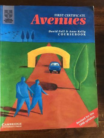 First Certificate Avenues