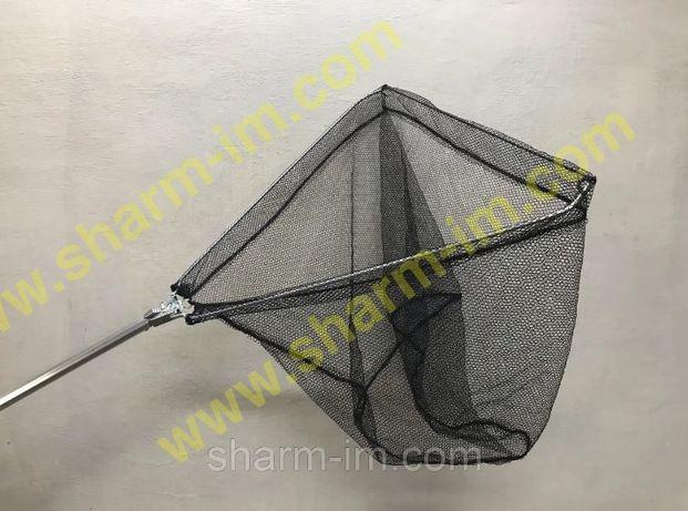 Компактный складной Подсак на рыбалку с мелкой сеткой (Для Креветки )