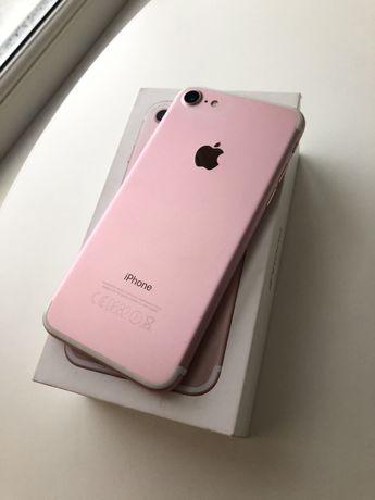 iPhone 7 128 gb Rose+ в подарок чехол-powerbank
