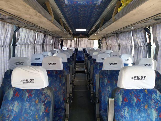 Чехол подголовник на автобус