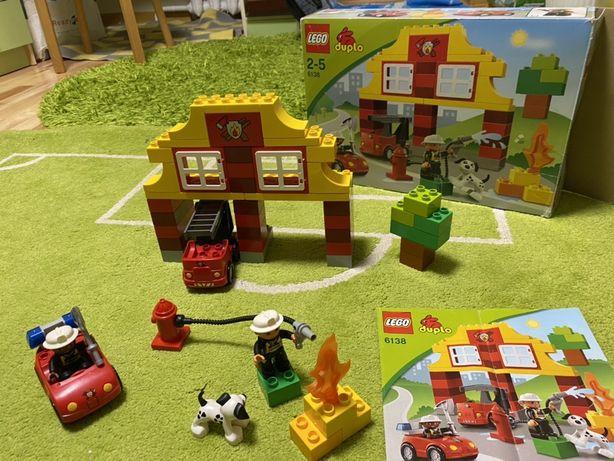 Lego лего duplo пожарная станция