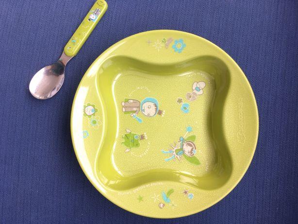 Prato de refeição bebé