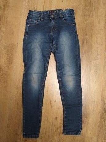 Spodnie Reserved rozmiar 134 jeansy dla dziewczynki