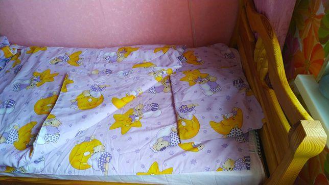Детское постельное белье с защитой
