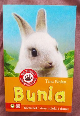 Bunia króliczek, który uciekał z domu, Tina Nolan