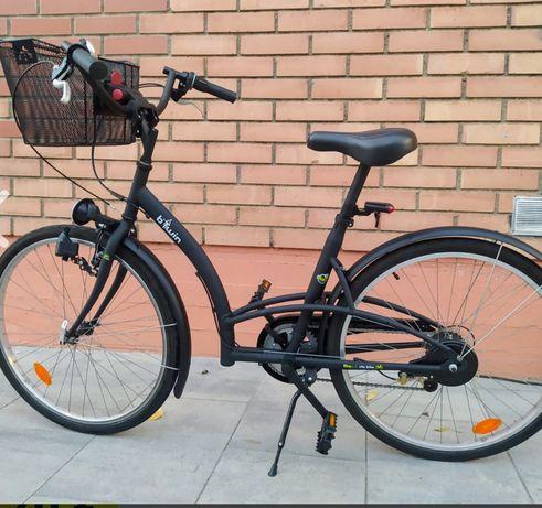 Bicicleta cidade Decathlon