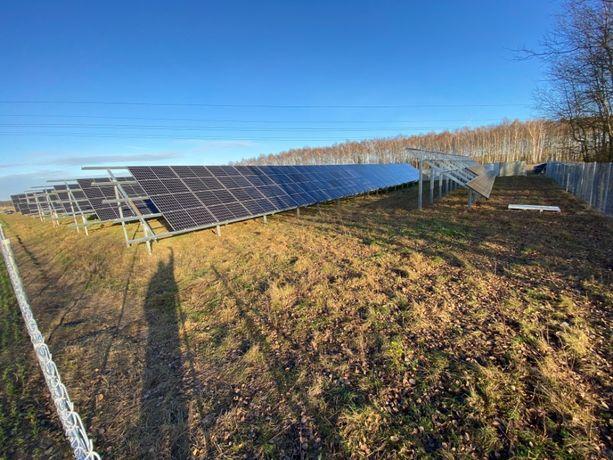 działki pod inwestycję budowy farmy fotowoltaicznej