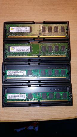 RAM ОЗУ DIMM DDR2-800 1GB - 4 шт