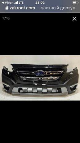 Бампер передний  Subaru Outback 2021 европеец в сборе