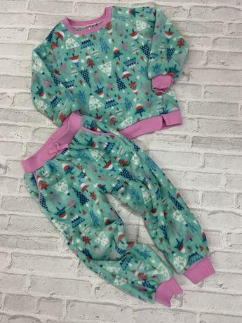 Флисовая пижама TU на 4-5 лет