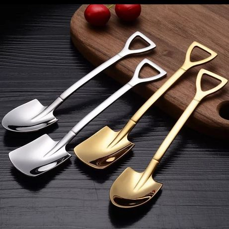 Ложка лопата чайная, десертная , нержавейка подарки