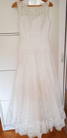 Suknia ślubna koronka rozmiar 38