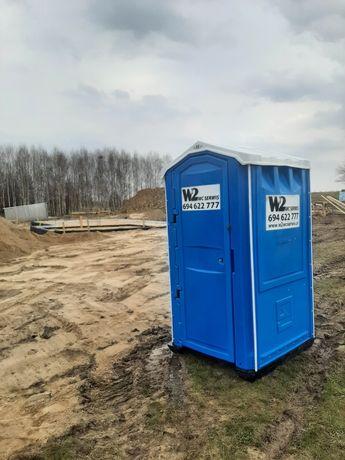 Toaleta przenośna wynajem wc budowa Olsztyn Szczytno Ostróda Biskupiec