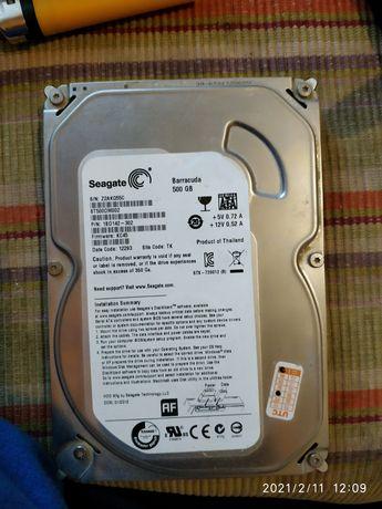 Жёсткий диск Баракудда на 500 гб