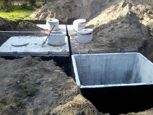 Zbiornik na deszczówkę szamba szambo betonowe 6m3 7m3 8m3 9m310m3 12m3