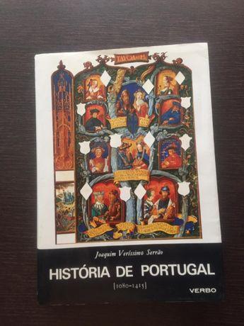 História de Portugal de Joaquim Veríssimo Serrão - 1080 a 1415