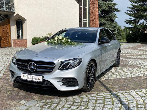 Samochód,auto do ślubu Mercedes W213 AMG pakiet Night!