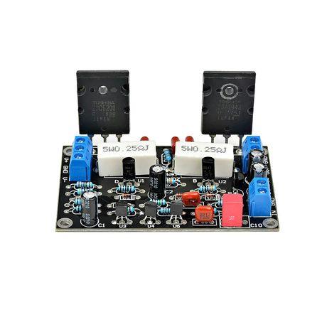 Усилитель звука 100 Вт 2SC5200 + 2SA1943 Hi-Fi аудио усилитель