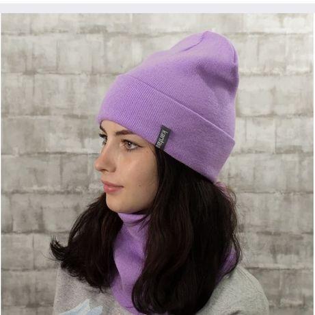 Набор шапка+снуд