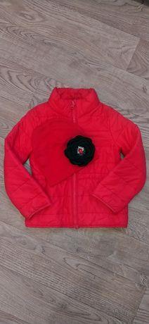 Куртка H&M демисезонная курточка для девочки ветровка деми