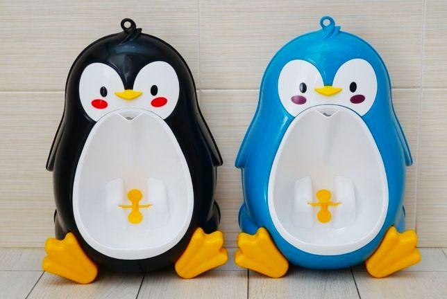 Писсуар детский Пингвин, пісуар дитячий, горшок для мальчиков
