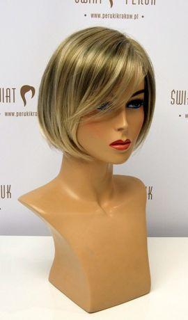Peruka półdługa z włosa syntetycznego Staszów