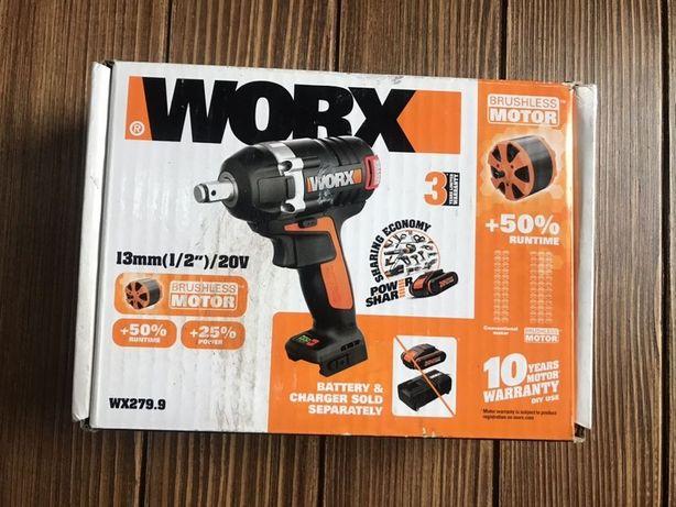 Аккумуляторный гайковерт Worx wx 279.9