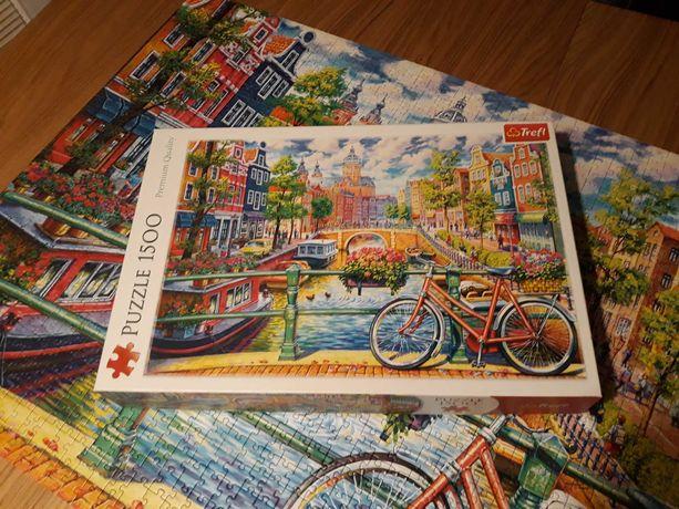 Puzzle Trefl 1500 Kanał Amsterdamski