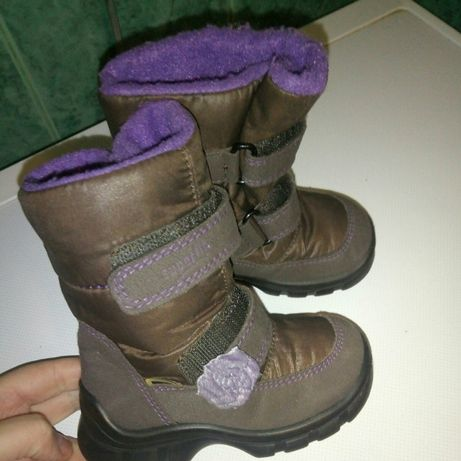 Ботинки зимние superfit, 21 размер
