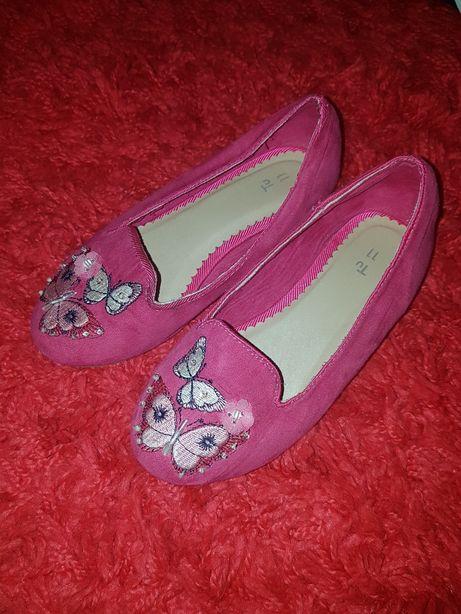 Balerinki, buty, buciki dla dziewczynki roz.29- stan idealny