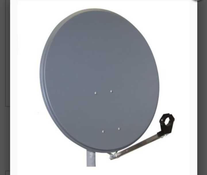 Antena satelitarna 80cm i uchwyt . NOWE Szczecin - image 1