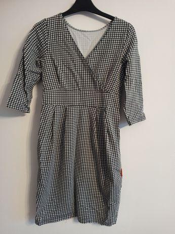 Sukienka ciążowa do karmienia Cangaroo S