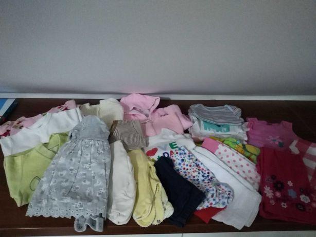 Paka ubrań dla dziewczynki r 56 62 68