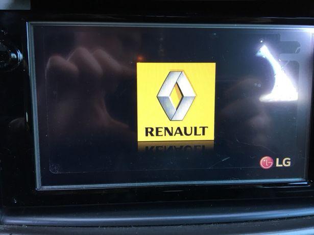 Atualizações e mapas Média Nav Renault
