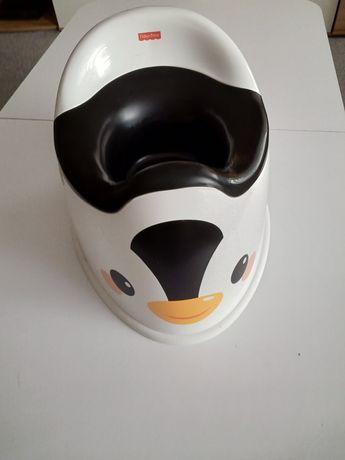 NIEUŻYWANY Nocnik Pingwin Fischer Price z wyjmowanym wkładem
