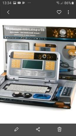 Обучающий компьютер и CD ноутбук