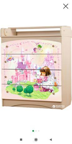Комод Вальтер детский пеленальный столик