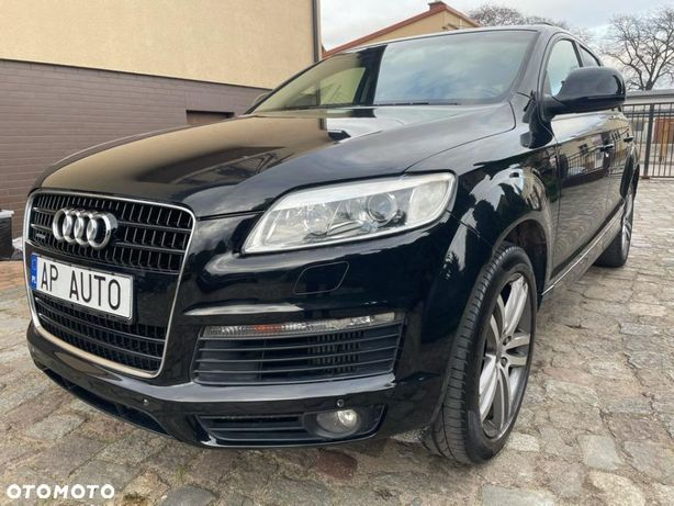 Audi Q7 S Line  Jasna Skórzana Tapicerka